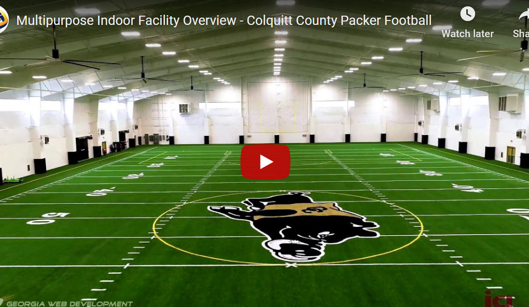 Multipurpose Indoor Facility Overview – Colquitt County Packer Football